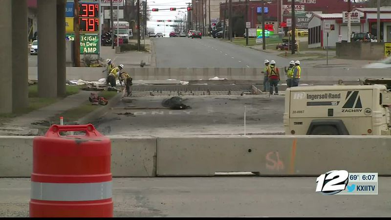 Construction is causing an inconvenience for drivers across Grayson County lately. It not only...