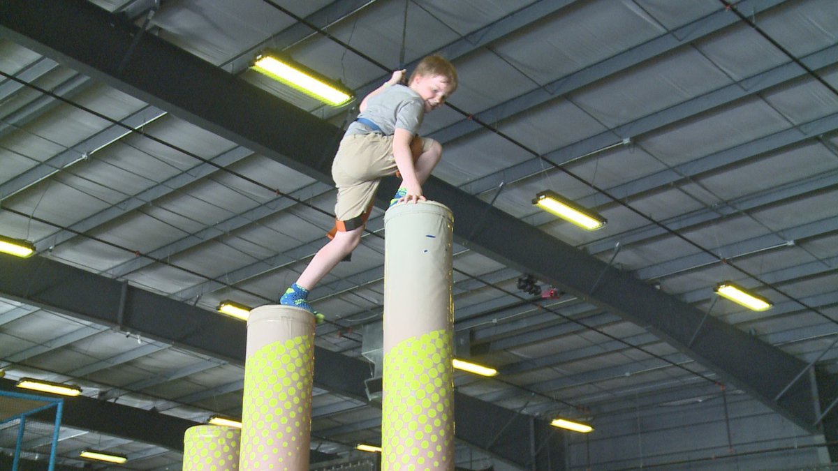 With high temperatures during the summer, kids are searching for places to get out energy and...