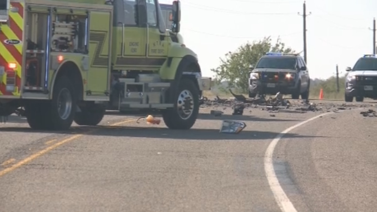 One person is dead after a crash on a Grayson County highway Monday morning.