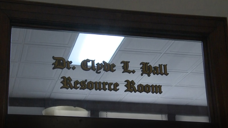 Sherman Museum dedicates room to Dr. Clyde L. Hall
