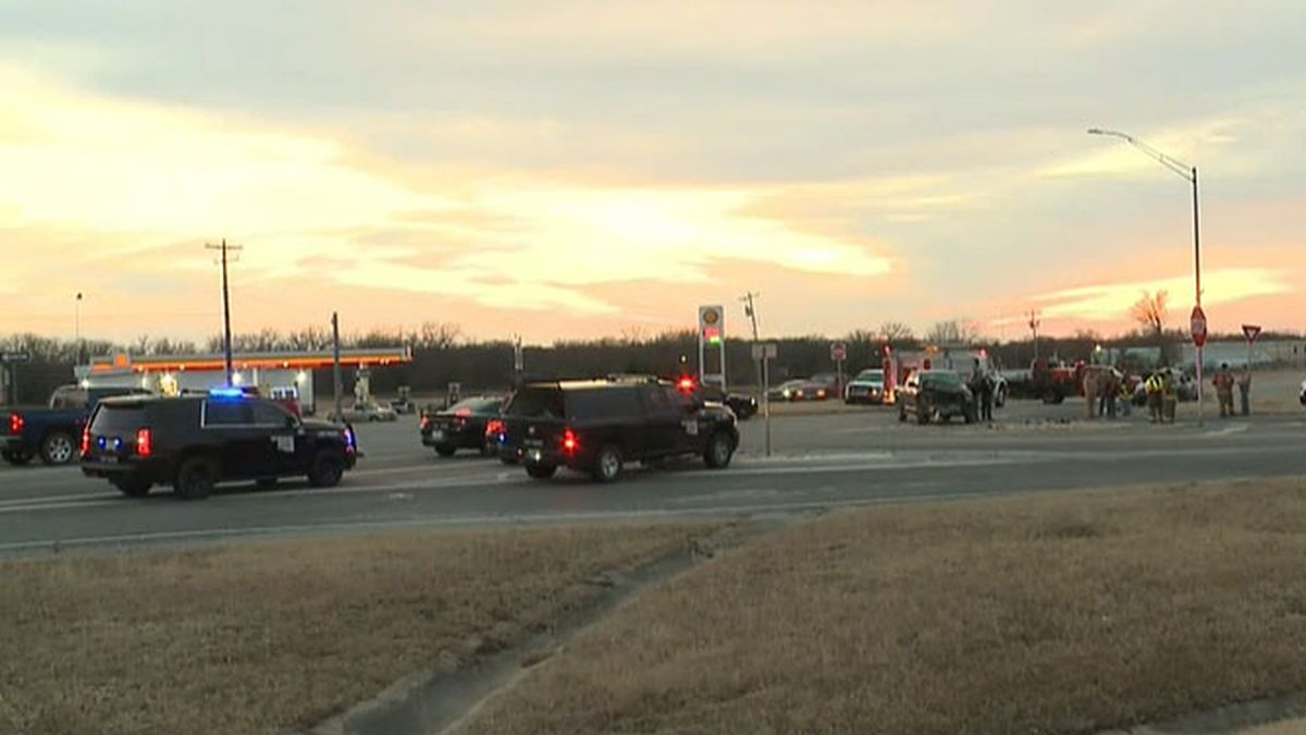One woman was killed in a crash at US-70 and SH-76 in Carter County Saturday.