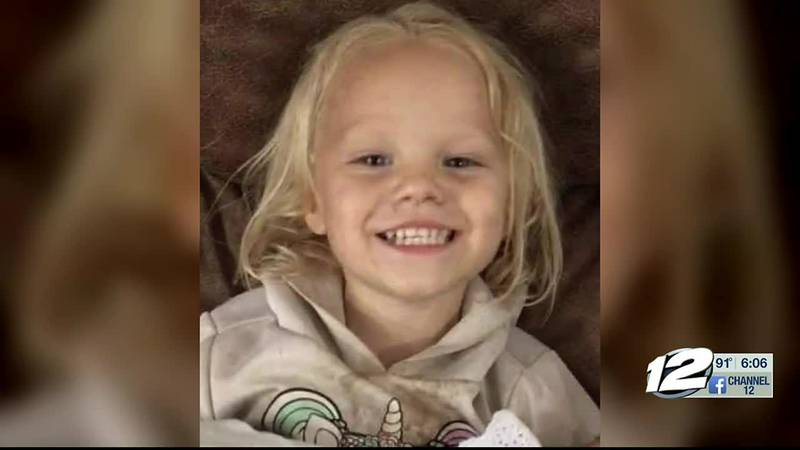 A Texoma toddler is in critical condition after a freak accident