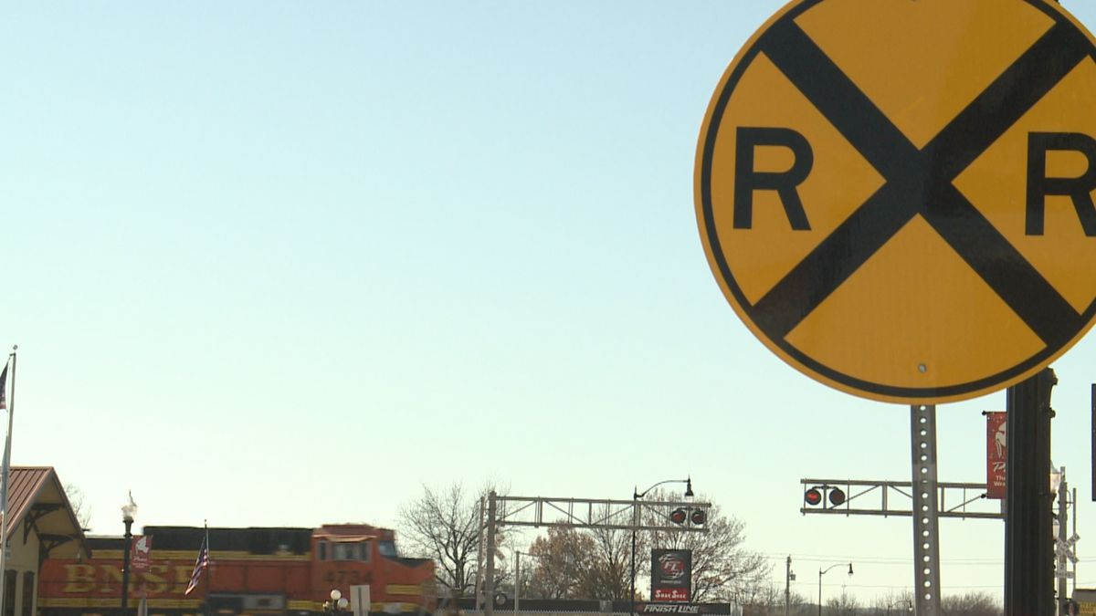 An Oklahoma law aimed at keeping trains from blocking roadways has been ruled unconstitutional...