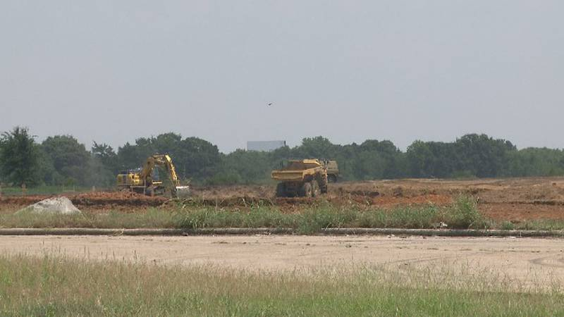 They expect to complete construction by next June, and hope to be operating by late fall, early...