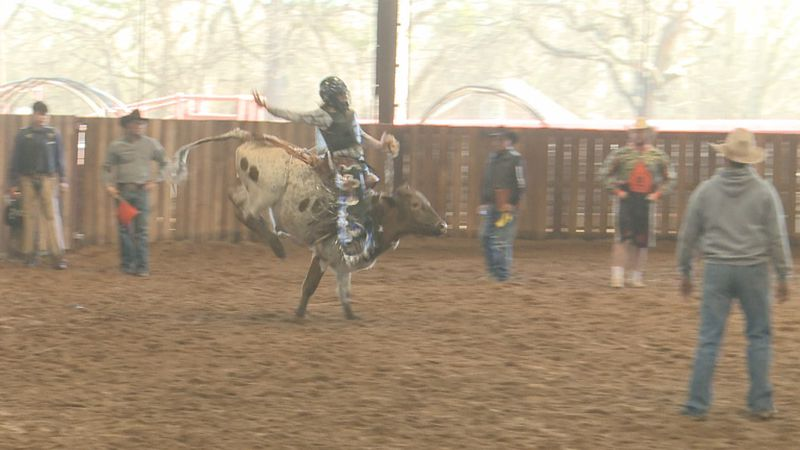 Around 250 students from all over Oklahoma and neighboring states saddled up to the Hardy...