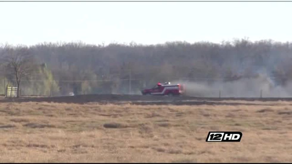 All Lamar County fire departments respond to 100 acre ...