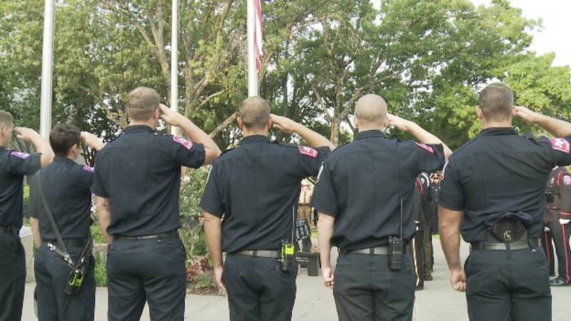 Grayson County holds 11th annual Patriot Day Remembrance Ceremony to honor the fallen that died...