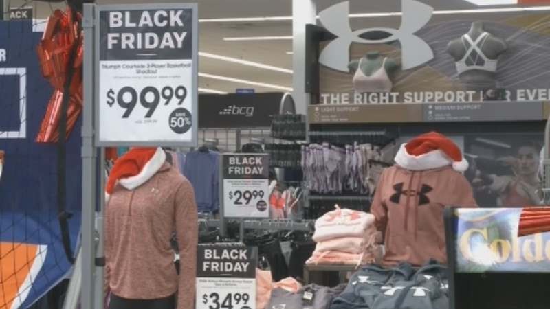 Academy Sports & Outdoors in Sherman is getting ready for Black Friday.