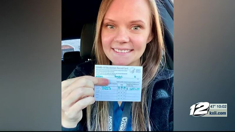 A Texoma woman tested positive for COVID-19 just over a week after getting her first shot of...