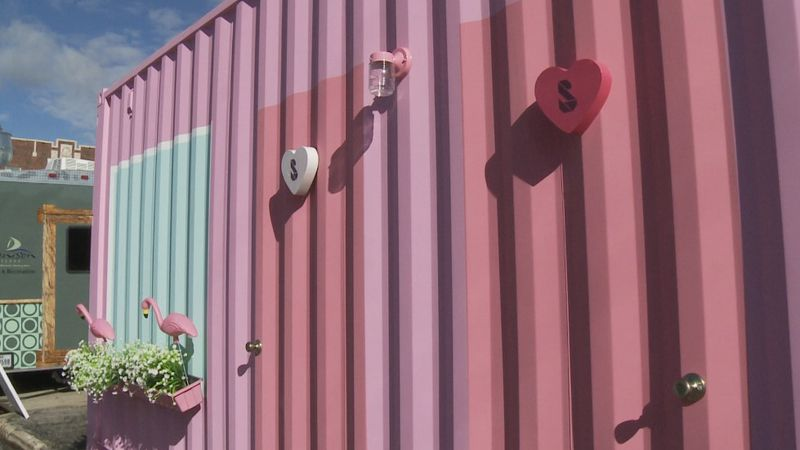 A new attraction is open this week in Denison.