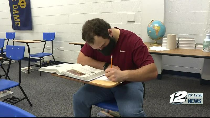 This week's A+ Athlete is Joe Barker of Plainview High School.