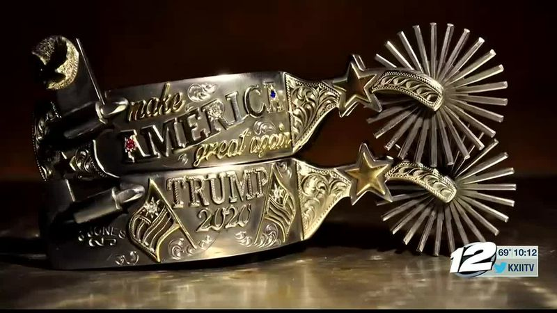 A Texas native's craft has been recognized across the country, after he made a pair of spurs...