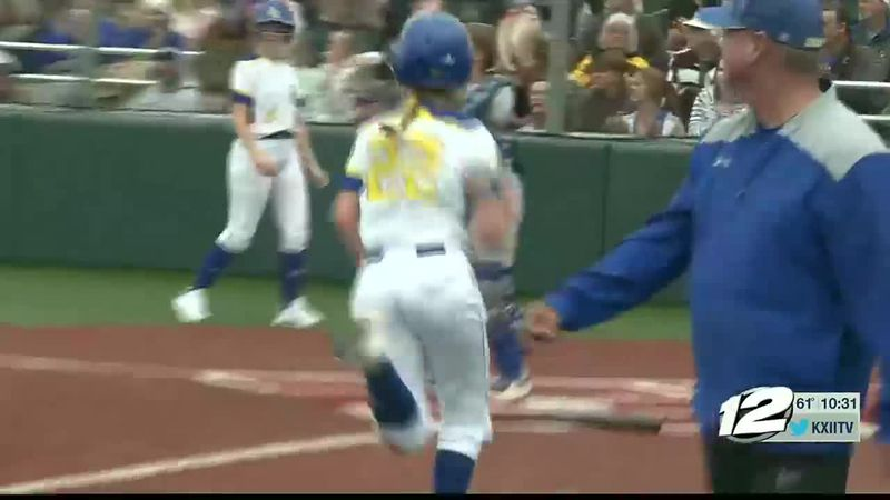 Dodd City-Ector Softball Highlights