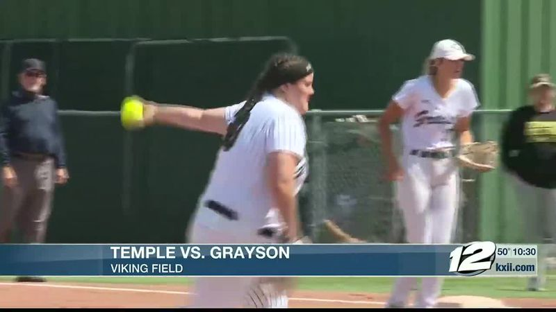 Temple-Grayson Softball Highlights