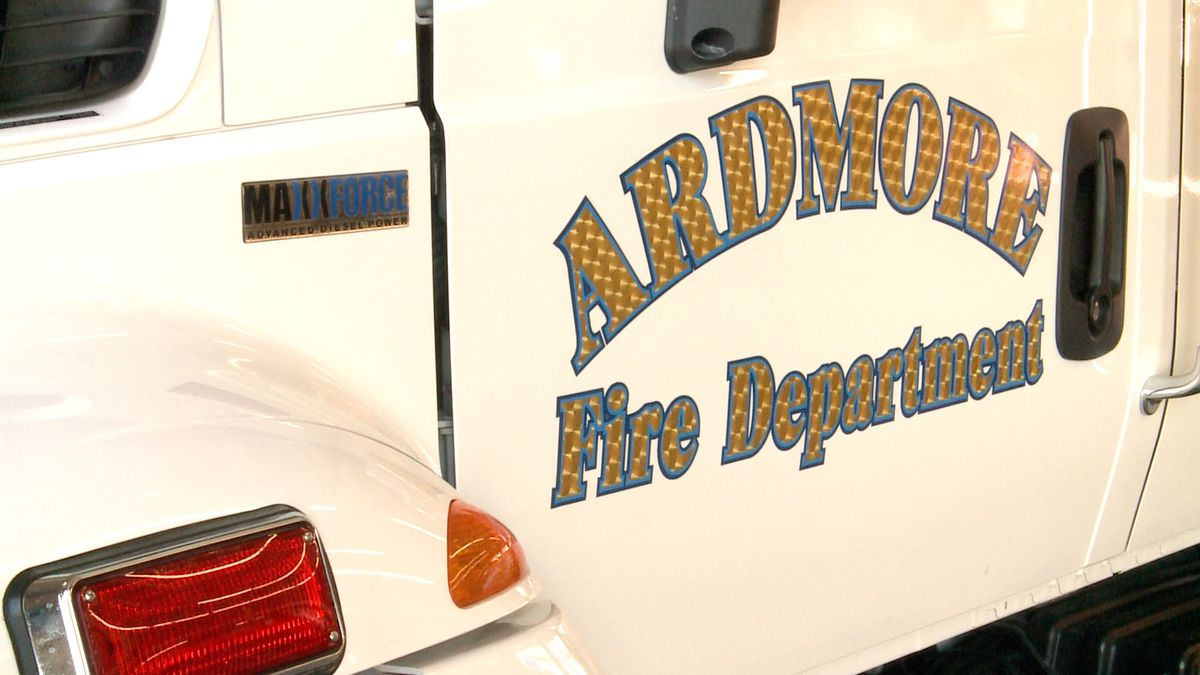 The Ardmore Fire Department reflects back on working in the freezing temperatures this past week.