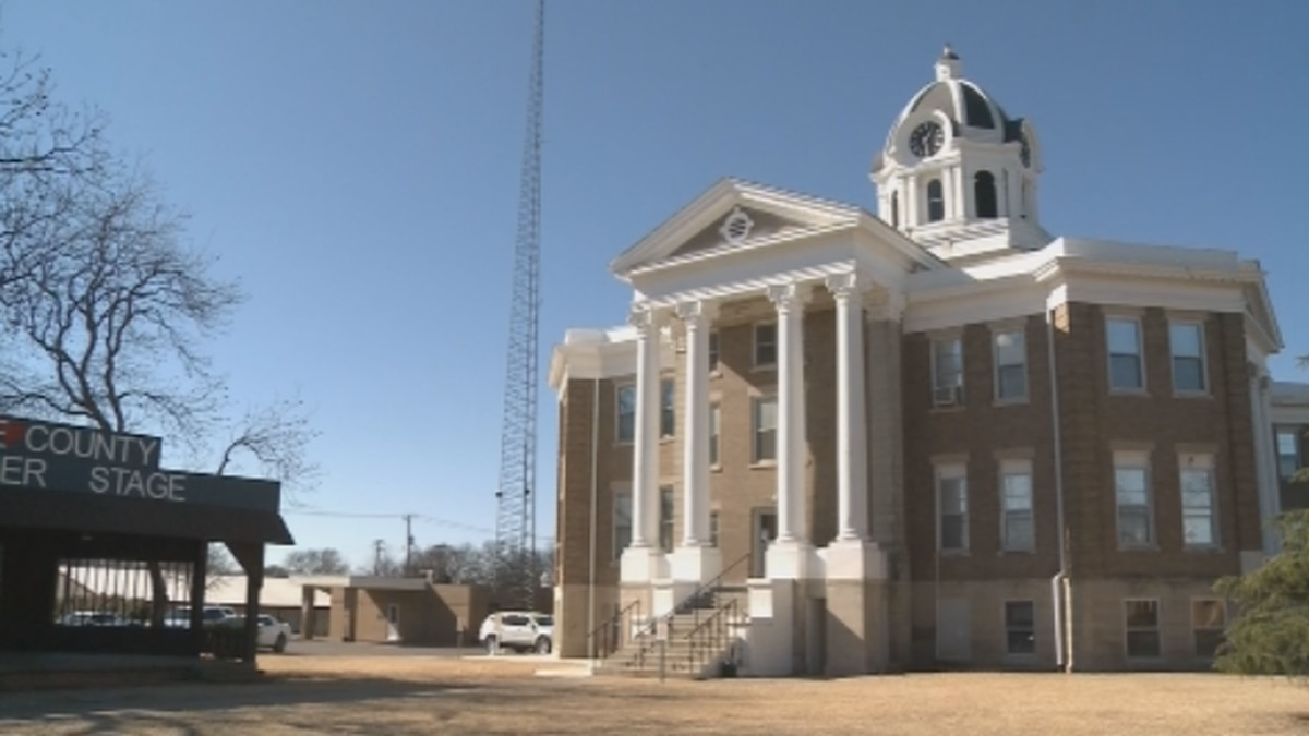 Love County Courthouse (FILE)