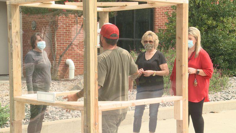 A Davis non-profit made family interaction at the Sulphur Veteran Center easier by donating a...