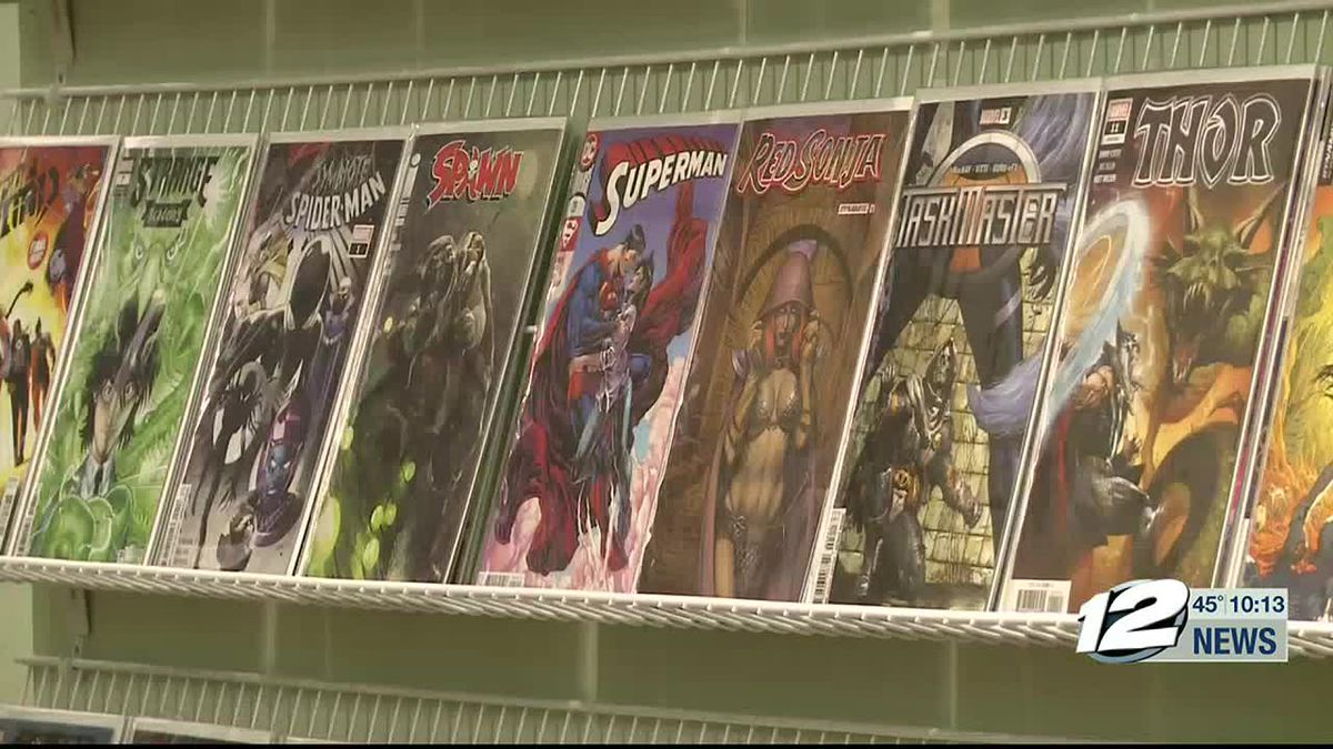 New comic book store opens in Sherman.