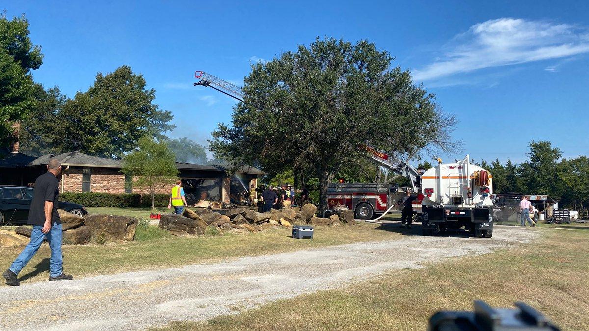 Fire destroys Ardmore home