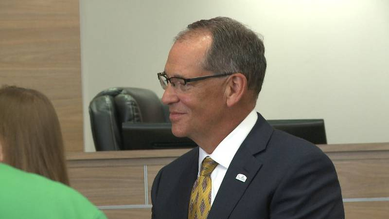 Greg Smith said his first plans as Denison city manager is to listen to the community's needs.