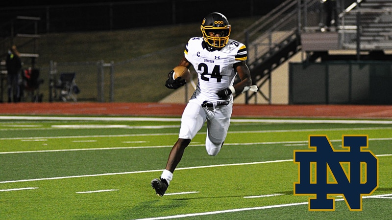 Jadarian Price commits to Notre Dame