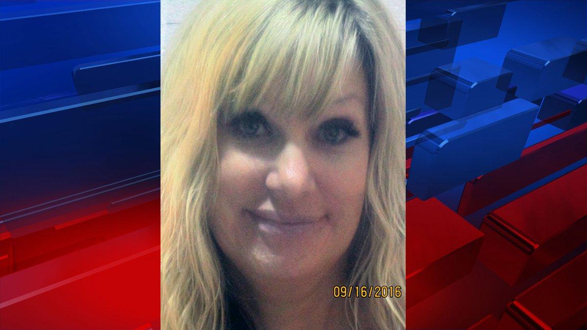Mug shot of Shelley Duncan from her 2016 arrest (KXII).