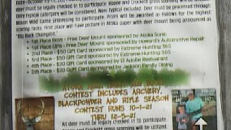 Oklahoma Department of Wildlife sponsors Youth Big Buck Contest 2021