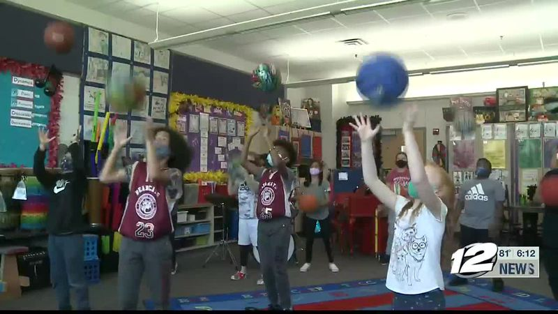 A video featuring Neblett Elementary students is gaining worldwide attention in a viral social...