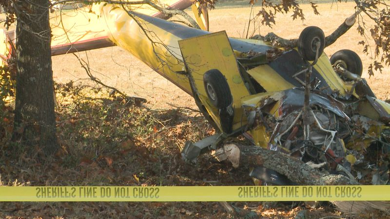 A pilot is in critical condition after an airplane crashed in Carter County Saturday morning.