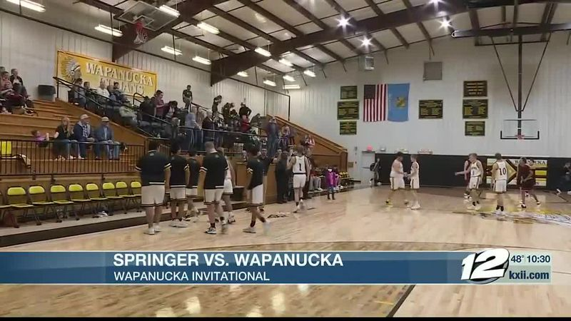 Springer-Wapanucka Boys Hoops Highlights