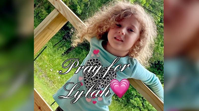 4-year-old Lylah Baker has spent the past 3 weeks fighting for her life. How she's doing today.