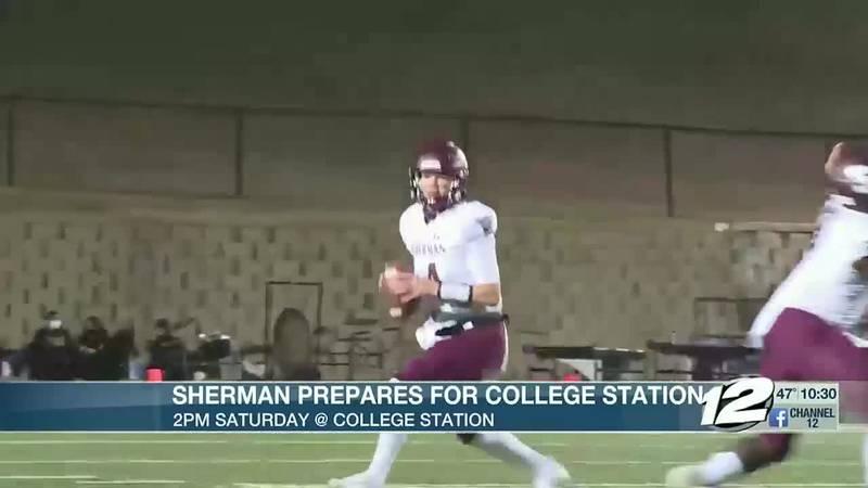 Sherman prepares for playoffs