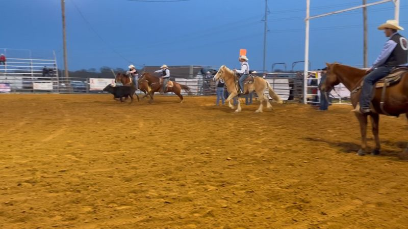 Southeastern Oklahoma State University rodeo team host intercollegiate rodeo after months of...
