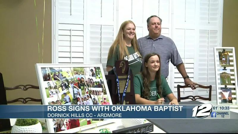Plainview's Ross signs with OBU