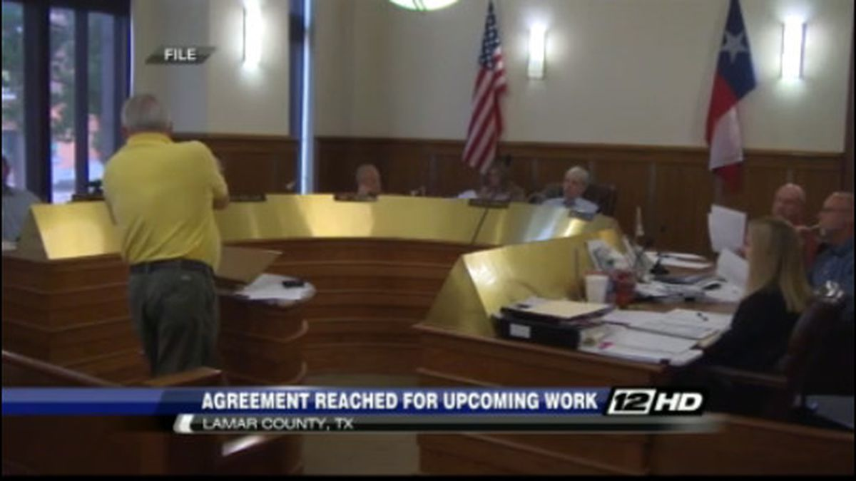 Lamar Co. commissioners hire company for flood repairs