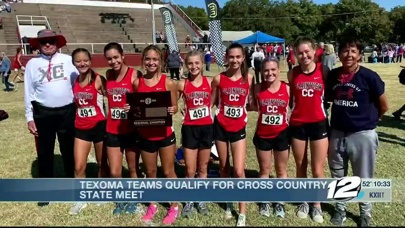 Texoma teams qualify for state cross country meet