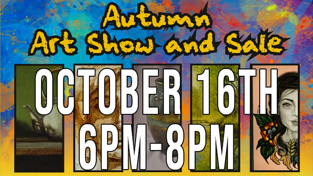 The Goddard Center in Ardmore hosted their first Autumn Art Show and Sale Friday evening.