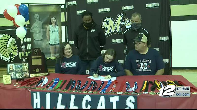 Marietta's Madison Lemons signs with Rogers State