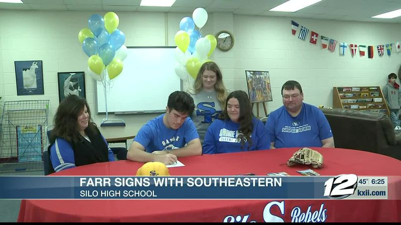 Silo's Farr signs with SOSU