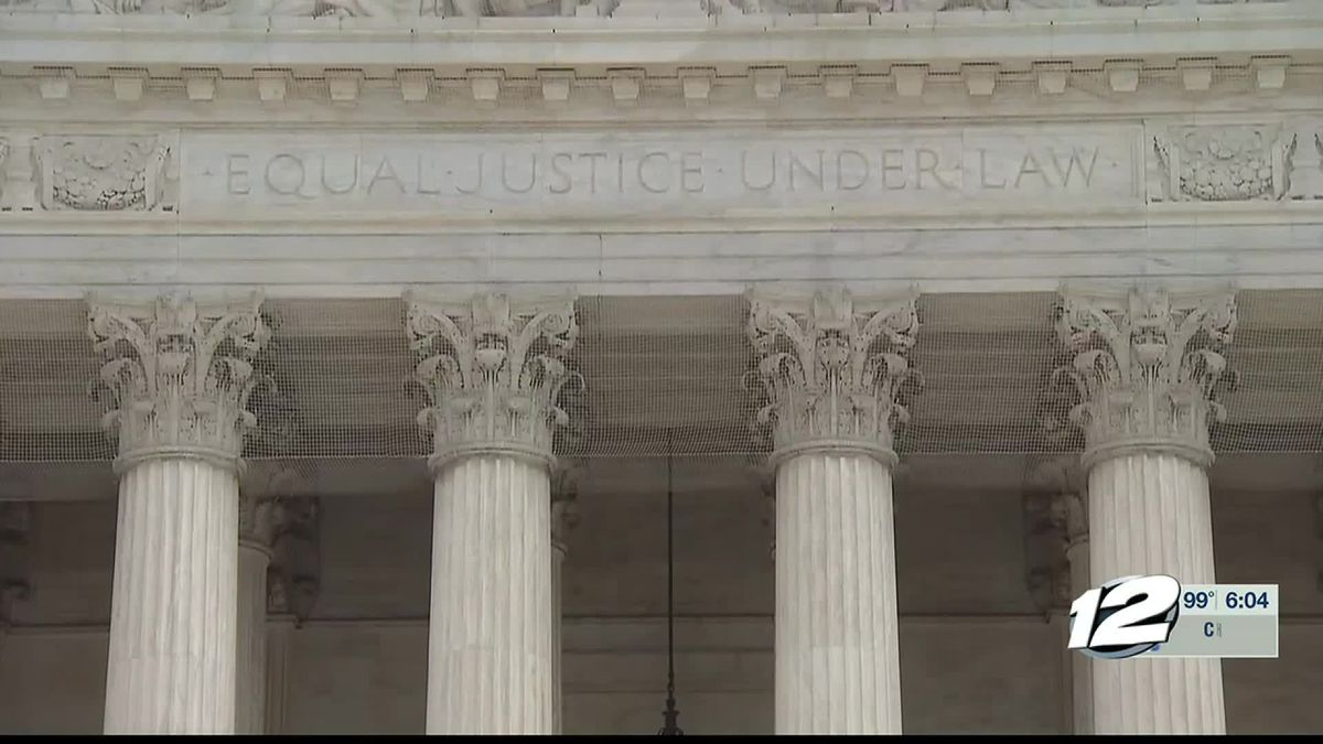 Supreme Court rules 5-4 Thursday for a large portion of eastern Oklahoma to remain an American Indian reservation.