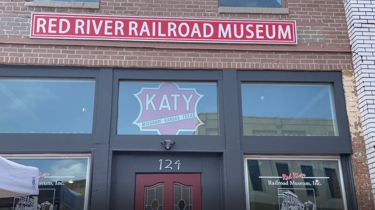 Red River Railroad Museum held a grand opening to celebrate new location
