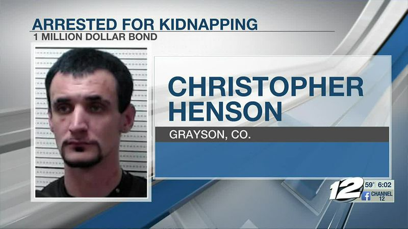 Christopher Henson is being held in the Grayson County Jail on over a million dollars in bonds.