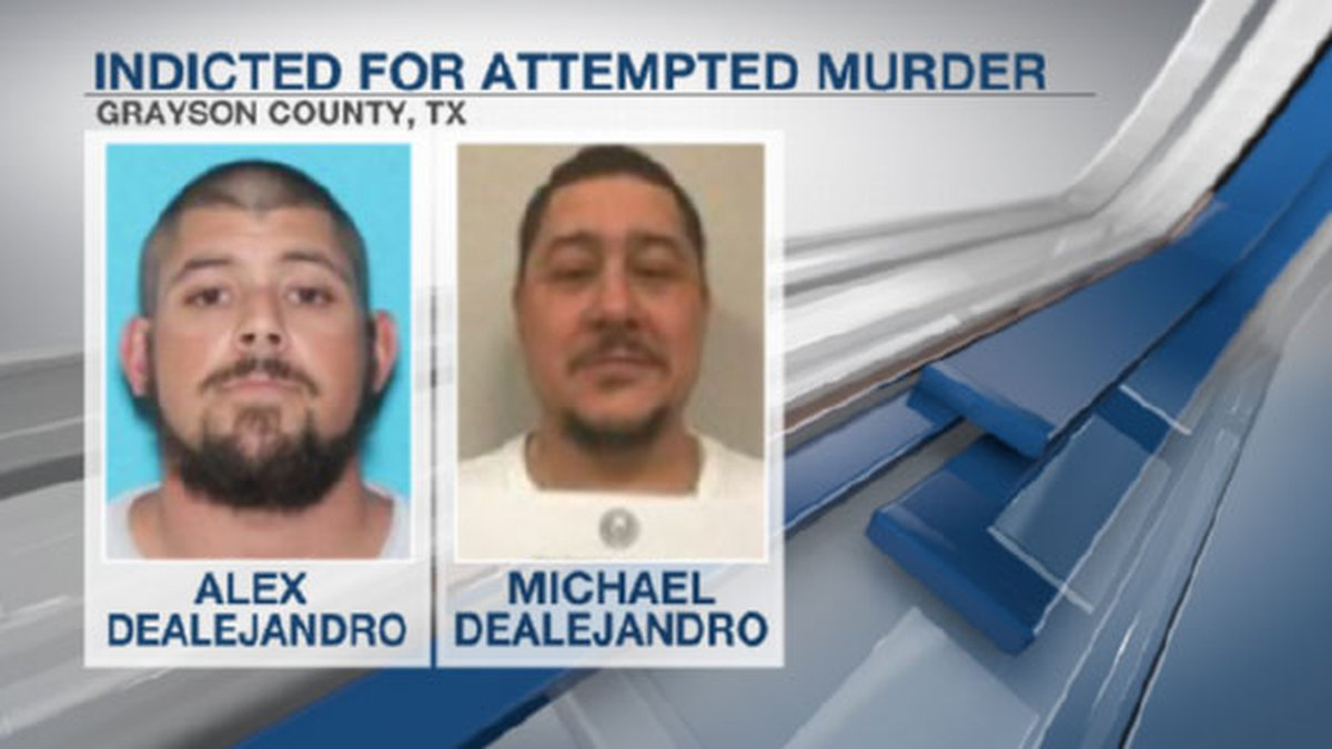Brothers indicted for attempted murder in Denison shooting