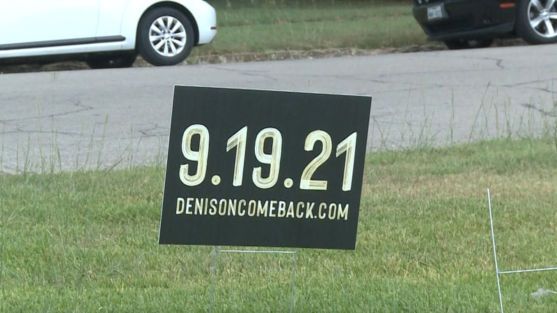 Congregations from all over Denison threw a joint event on Sunday called Denison Comeback.