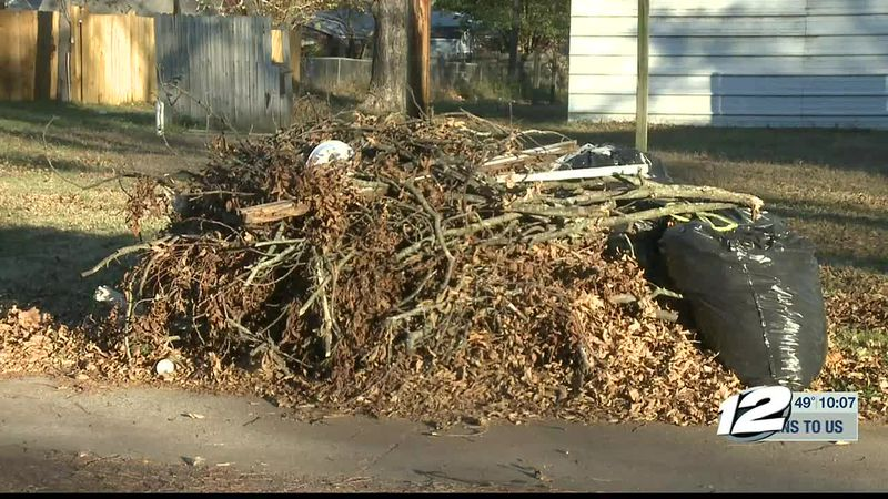 City of Durant cracking down on bulk trash and brush piles
