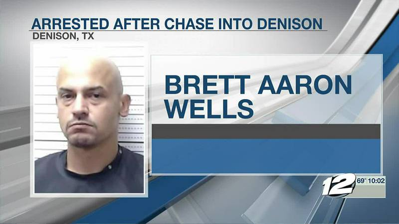 Denison Police arrested a man who is accused of stealing a car from Durant gas station and...
