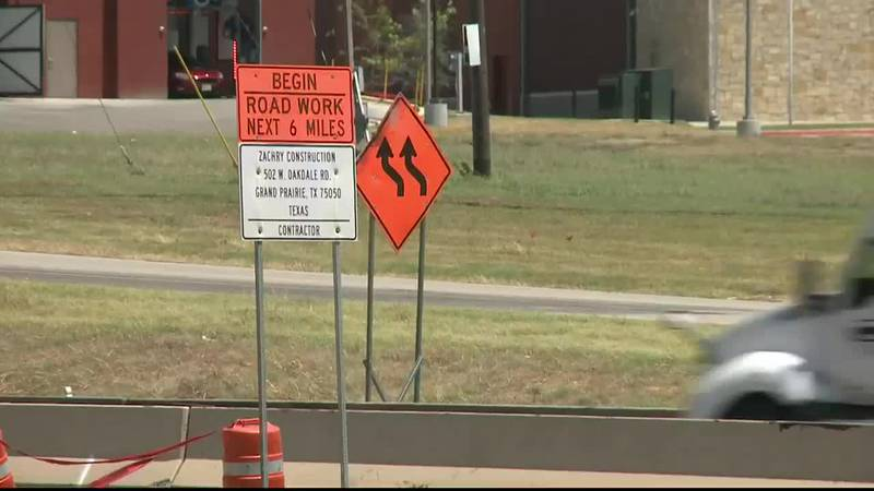 The Sherman Police department is warning drivers to be cautious when heading into construction...