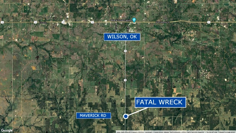 An Ardmore man is charged with manslaughter in a fatal December crash in Wilson.