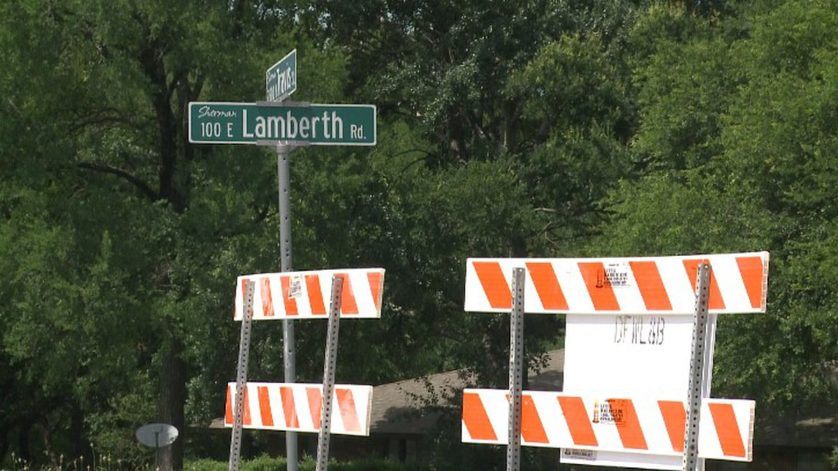 Lamberth road will be closed for the next month to replace a sewer main.