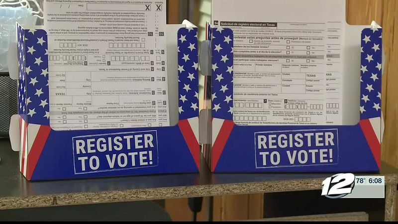 Early voting starts Tuesday and there's still lots of Grayson County voters who haven't...